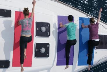 SeeFrauen Segeln Yoga für Frauen