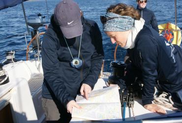 SeeFrauen Segeln Frauen Navigieren lernen