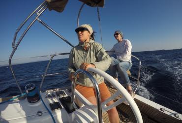 SeeFrauen Segeln Frauen Segeltraining