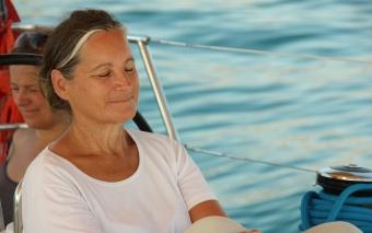 Yoga am Segelboot, SeeFrauen